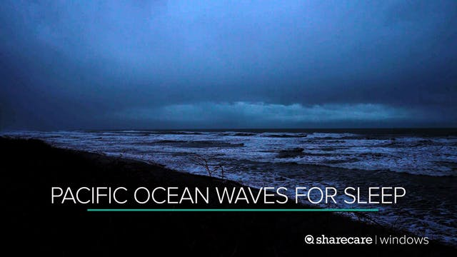 9 Hours of Pacific Ocean Waves for Sl...