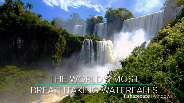 The World's Most Breathtaking Waterfalls