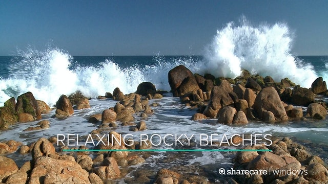 One Hour of Relaxing Rocky Beaches