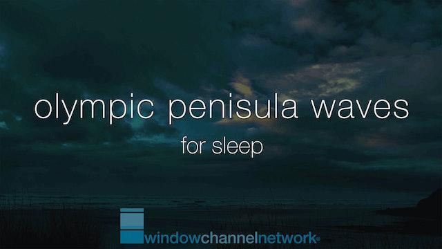 Olympic Peninsula Ocean Waves for Sleep