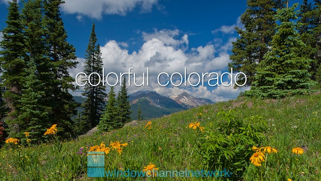 Colorful Colorado natural relaxation