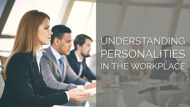 Understanding Personalities in the Wo...