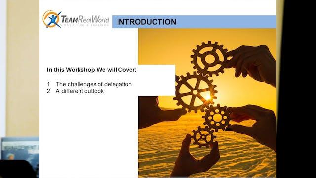 Art of Delegation, Part 1 (Challenges)