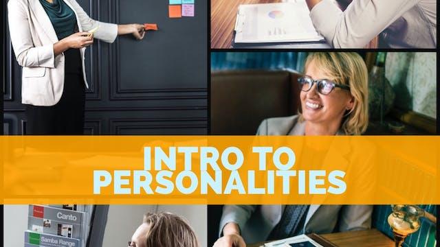 Introduction to Personalities
