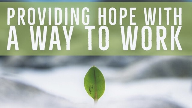 Providing Hope with a Way to Work: HOPE Ministries of Baton Rouge Janet Simmons