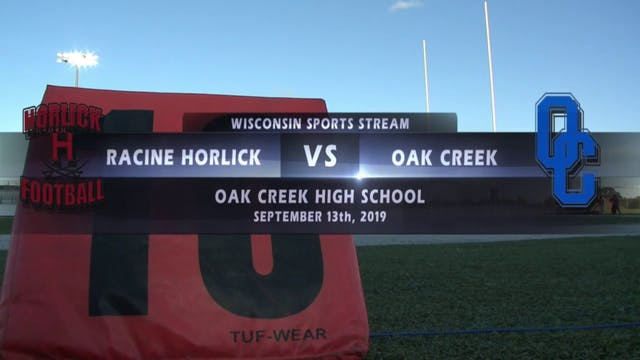 Week 4 - Racine Horlick vs Oak Creek