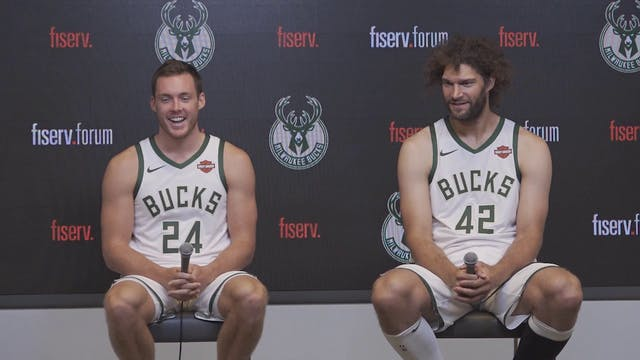 Bucks Media Day: Pat Connaughton and ...