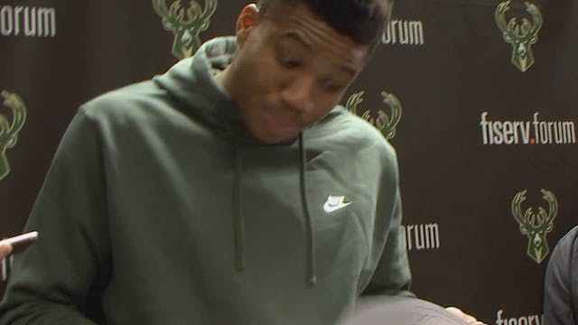 Giannis Postgame