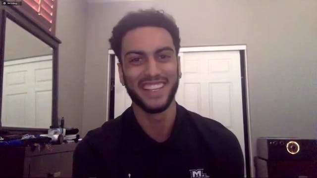 Markus Howard Full Banquet Speech