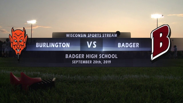 Week 5 - Burlington vs Badger
