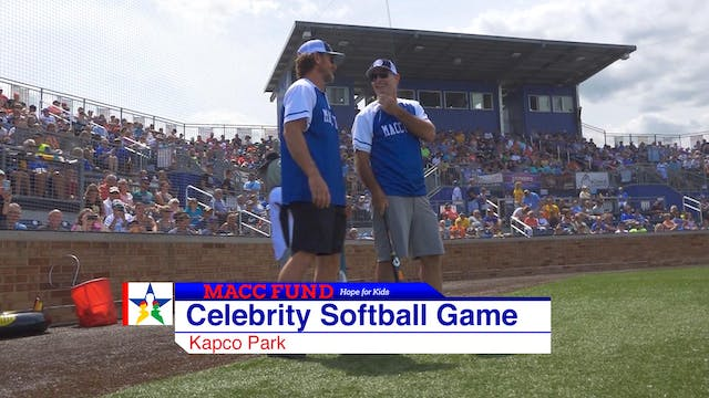 MACC Fund Celebrity Softball