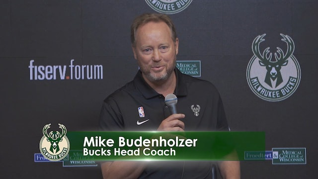Bucks Media Day: Mike Budenholzer and Jon Horst