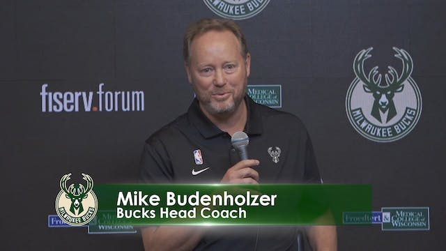 Bucks Media Day: Mike Budenholzer and...