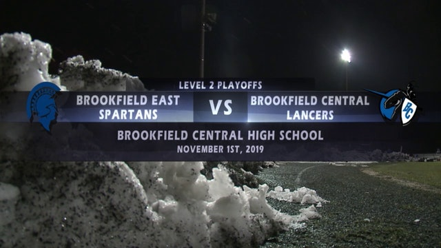 Brookfield East vs Brookfield Central - Level 2 Playoffs