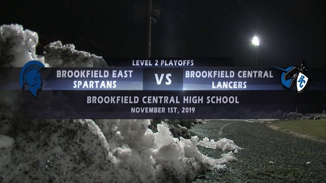 Brookfield East vs Brookfield Central...