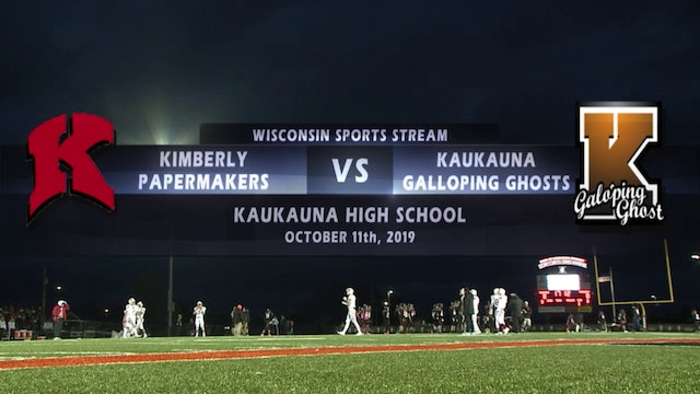 Week 8 - Kimberly vs Kaukauna