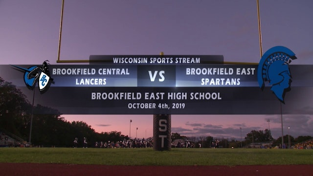 Week 7 - Brookfield Central vs Brookfield East
