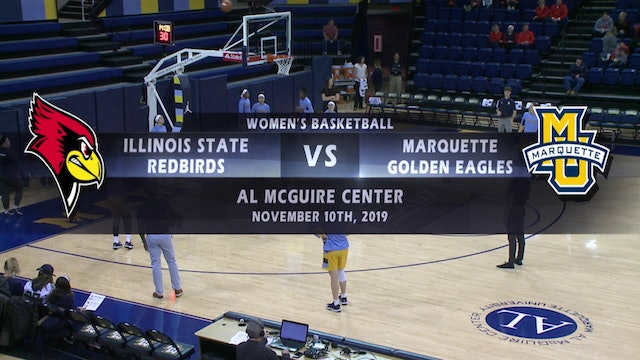 Illinois State Redbirds vs Marquette Golden Eagles