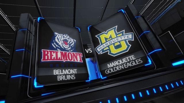Belmont vs Marquette Womens College Basketball