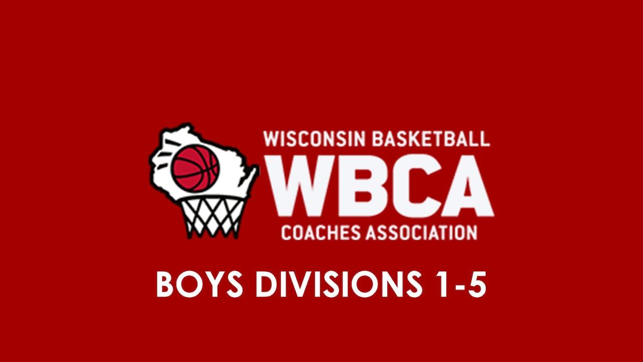 WBCA All Star Game Boys Division 1-5 - 6/15/19