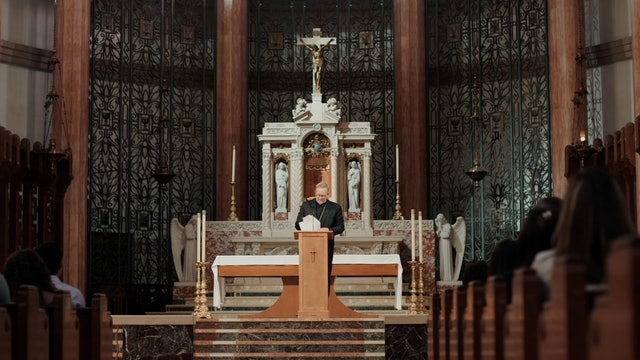 Are sacraments the most important things in the world?