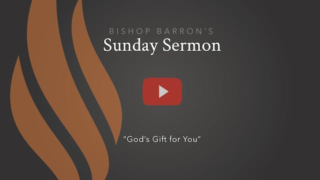 God's Gift for You — Bishop Barron's ...