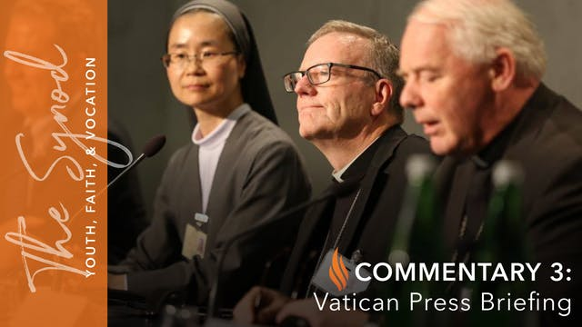 Synod 2018: Vatican Press Briefing