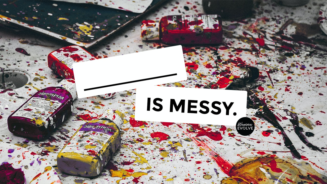(Blank) is Messy: a Devotional with SJR