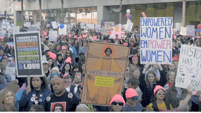 Women are Marching for Change
