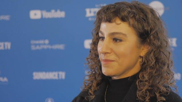 "Director Liza Mandelup of ""Jawline"" B..."