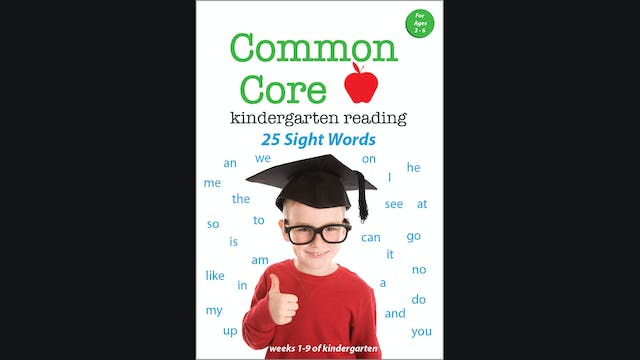 Common Core Kindergarten Reading - 25...