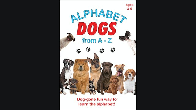 Alphabet Dogs from A to Z