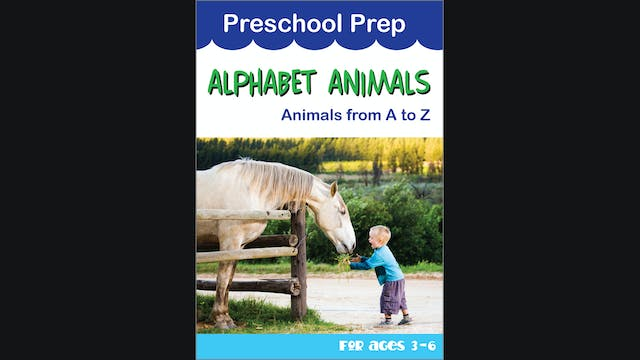 Preschool Prep - Alphabet Animals - A...
