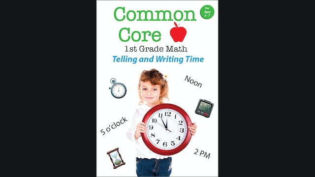 Common Core - 1st Grade Math - Tellin...