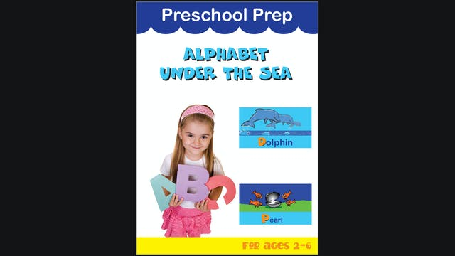 Preschool Prep - Alphabet Under the Sea