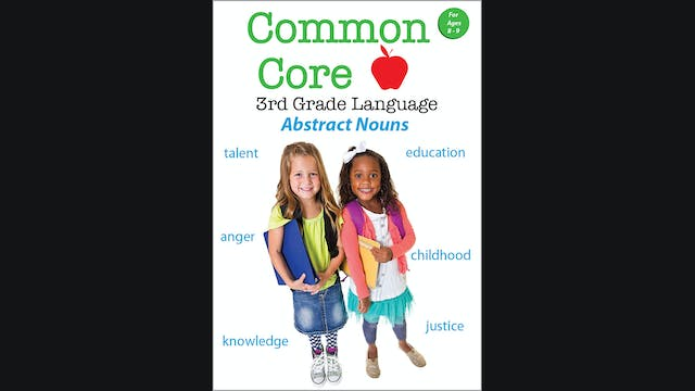 Common Core - 3rd Grade Language - Ab...