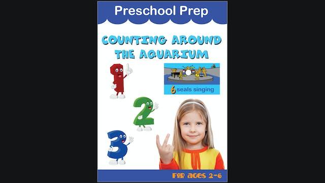 Preschool Prep - Counting around the Aquarium