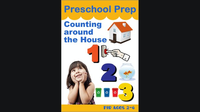 Preschool Prep - Counting Around the House