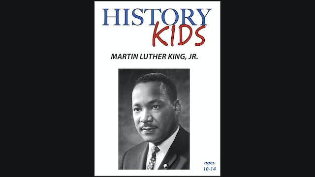 History Kids - Martin Luther King Jr