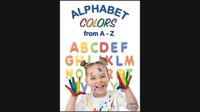 Alphabet Colors from A - Z