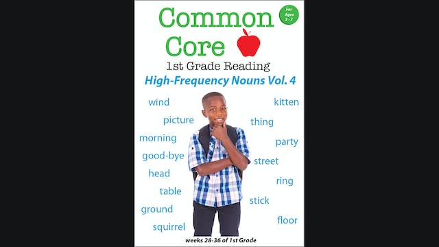 Common Core - 1st Grade Reading - Hig...