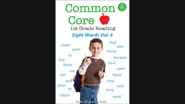 Common Core 1st Grade Reading - Sight...