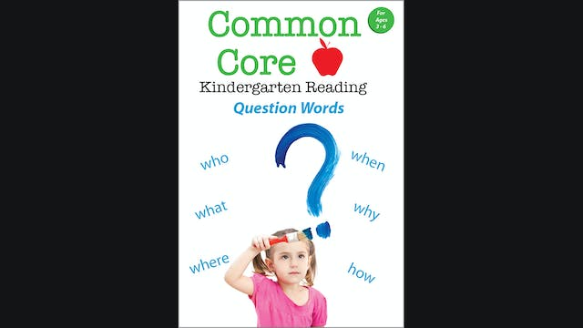 Common Core - Kindergarten Reading - ...