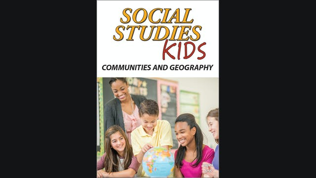 Social Studies Kids - Communities and Geography - Grades 1 - 3