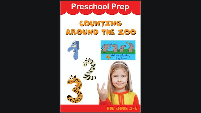 Preschool Prep - Counting Around the Zoo