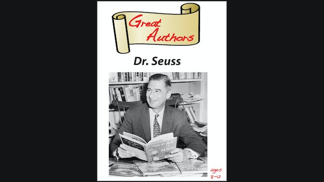 Great Authors - Dr. Seuss