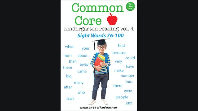 Common Core-Kindergarten Reading-Sigh...