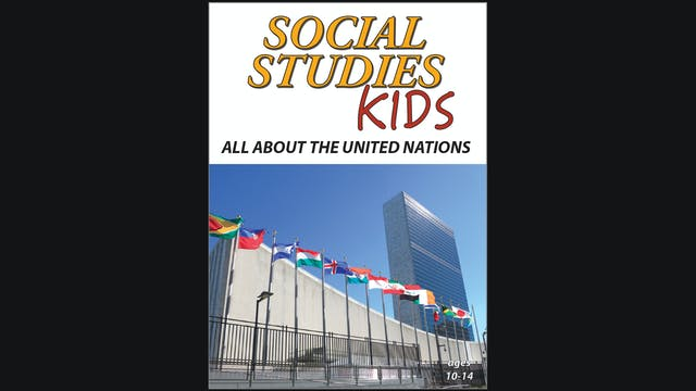Social Studies Kids - All About The United Nations - Grades 5 - 9
