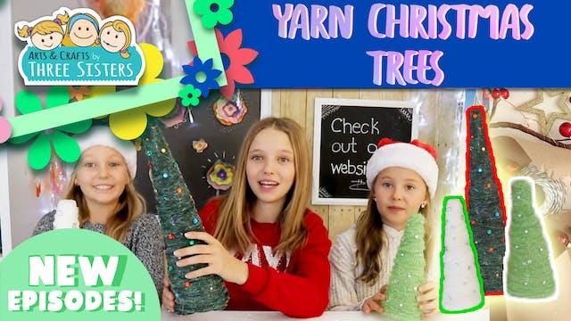 How to Make Yarn Christmas Trees - Fu...