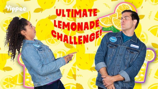 ULTIMATE Lemonade Challenge!